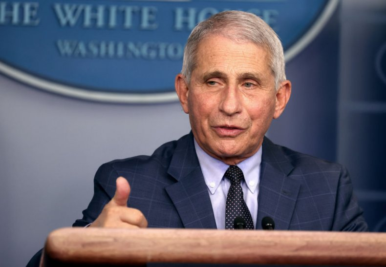 Dr. Anthony Fauci at White House