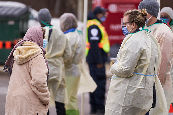 Unmasked hospital potluck may have led to 112 COVID infections, 12 deaths