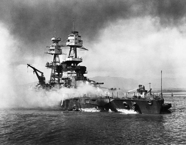 Pearl Harbor USS Nevada
