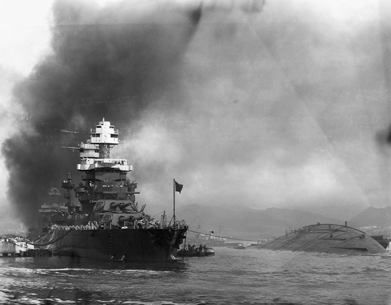 Pearl Harbor USS Oklahoma Maryland
