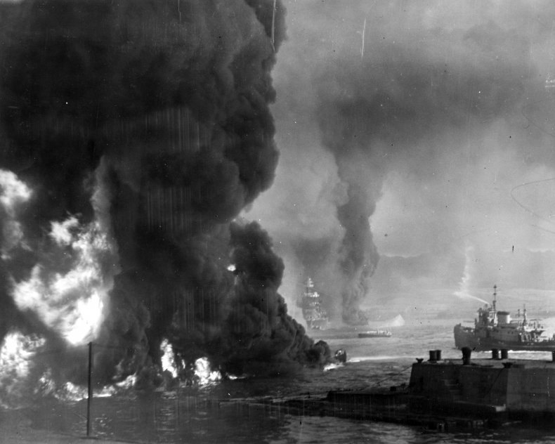Pearl Harbor Fire