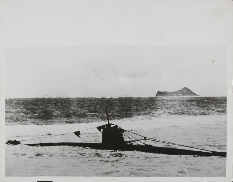 Japanese Submarine Pearl Harbor