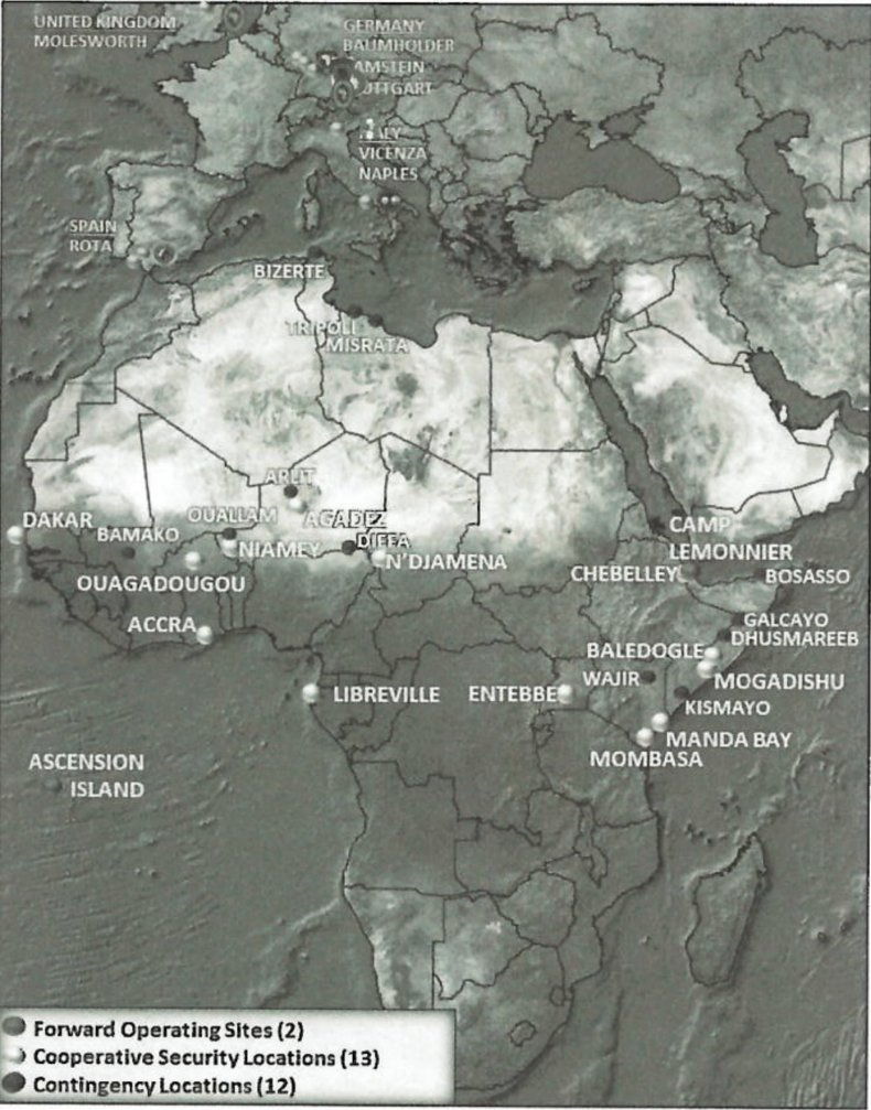 us, military, africa, command, map, locations