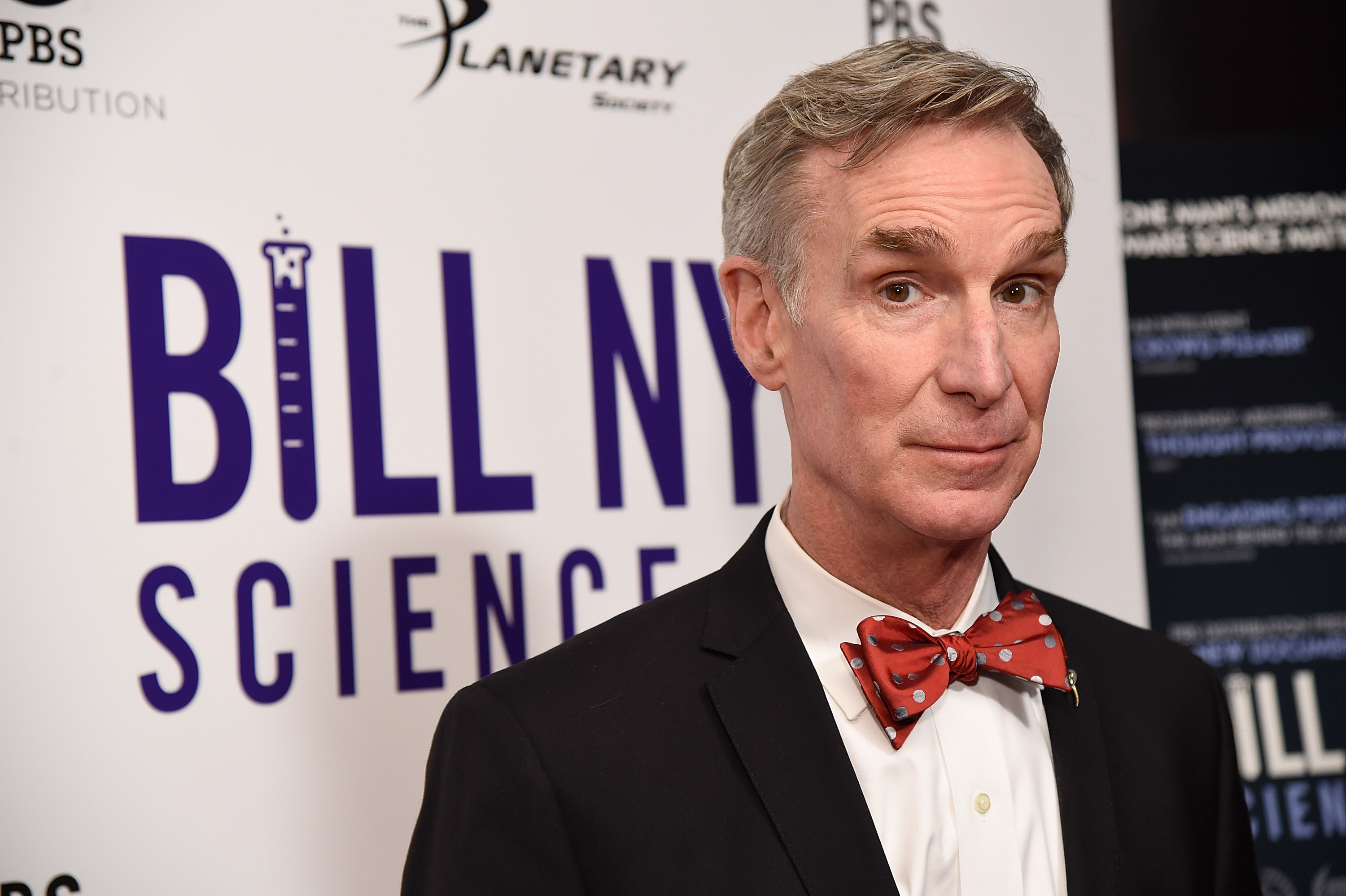 Bill Nye Says Masks Are `Not That Hard...