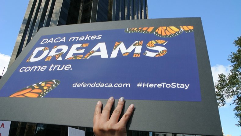 DACA Protest Sign Dreamers Ruling