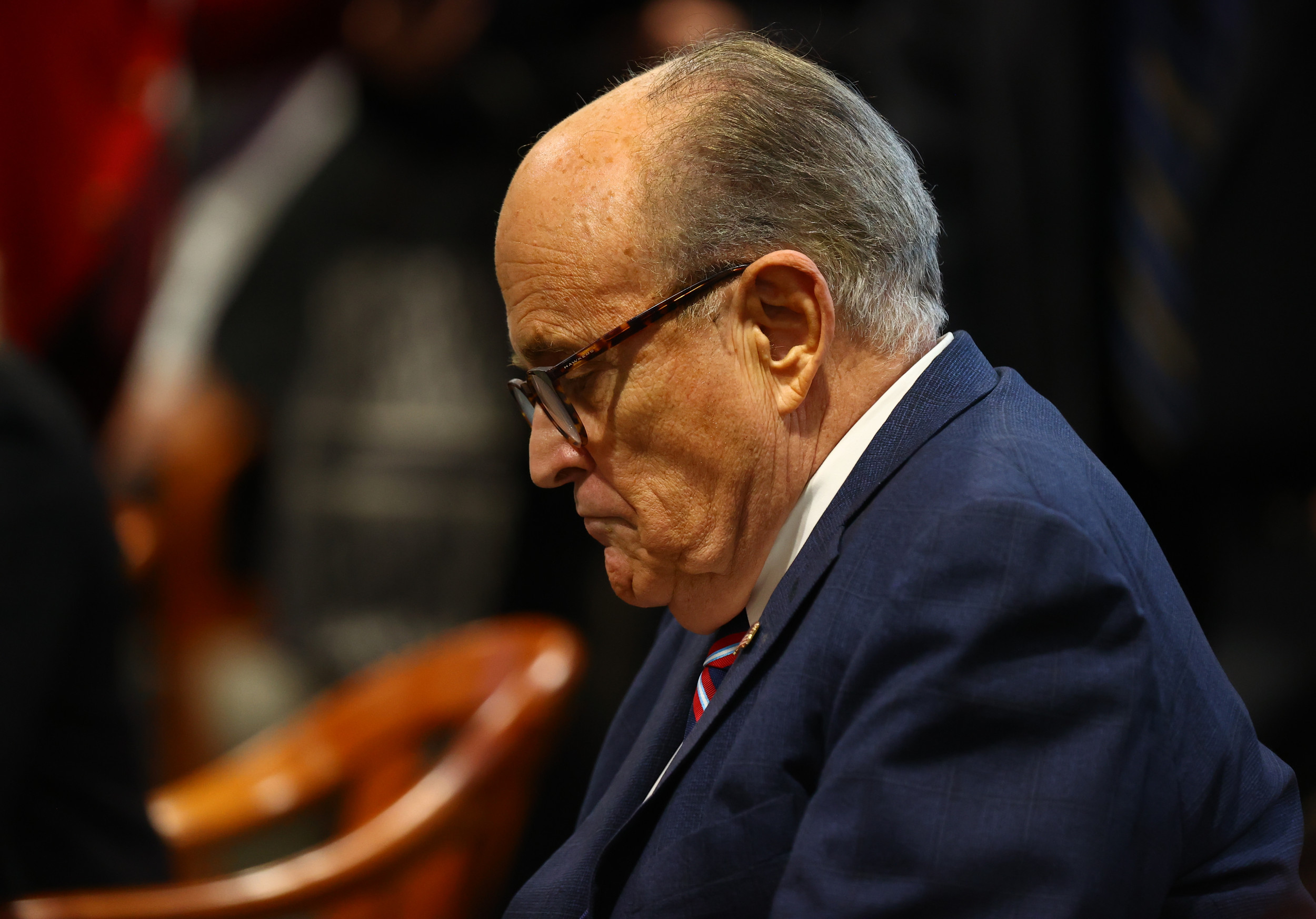 """Rudy Giuliani accuses judge of creating a """"fantasy,"""" says """"we don't need courts"""" in election fight"""