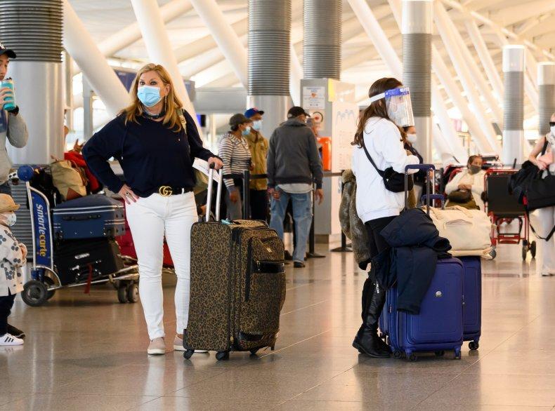 Passengers Awaiting Flight at NYC JFK Airport