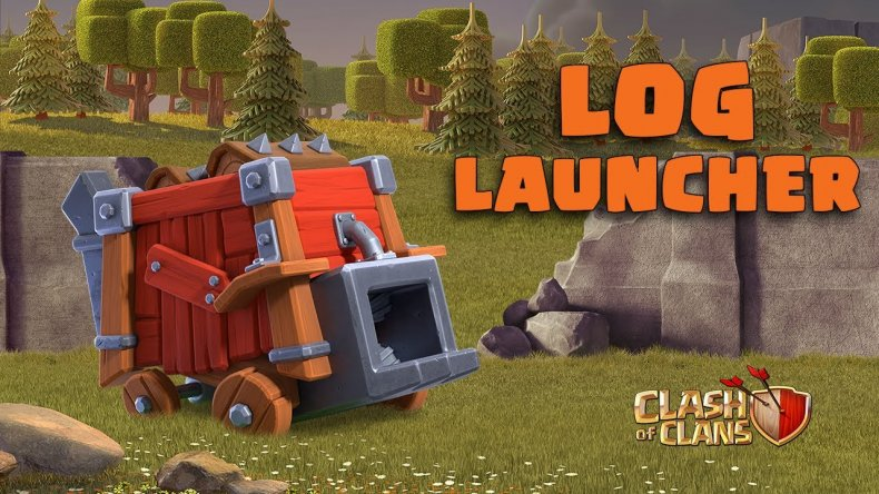 clash of clans log launcher
