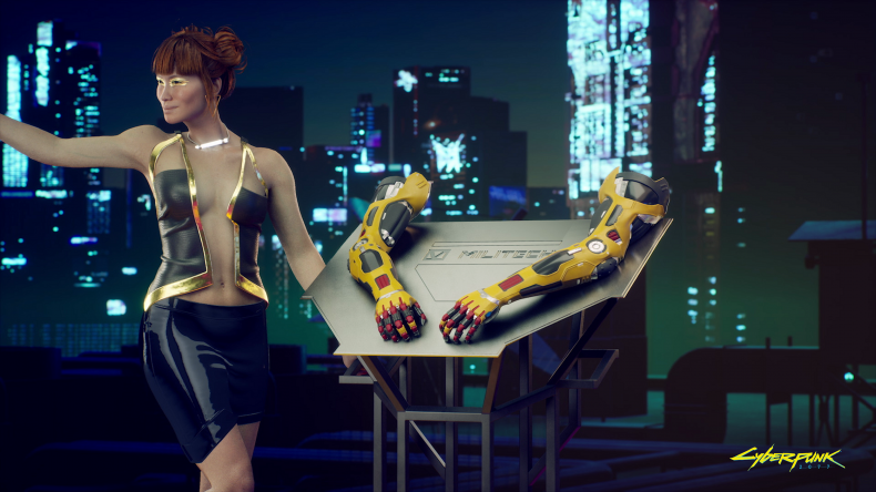 cyberpunk 2077 release time arms