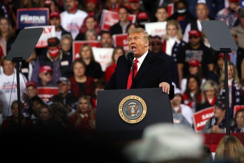 Trump speaks at Georgia rally
