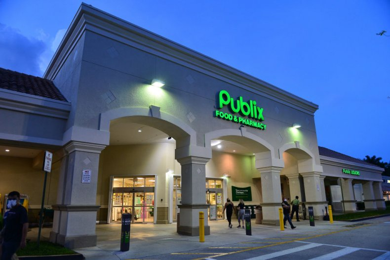A Publix supermarket in Florida