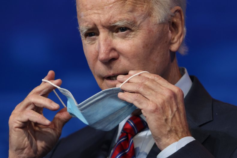 Joe Biden COVID inauguration pandemic Fauci
