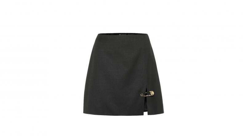 Versace Safety Pin Miniskirt