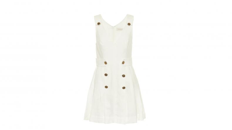 Zimmerman Lovestruck linen mini dress