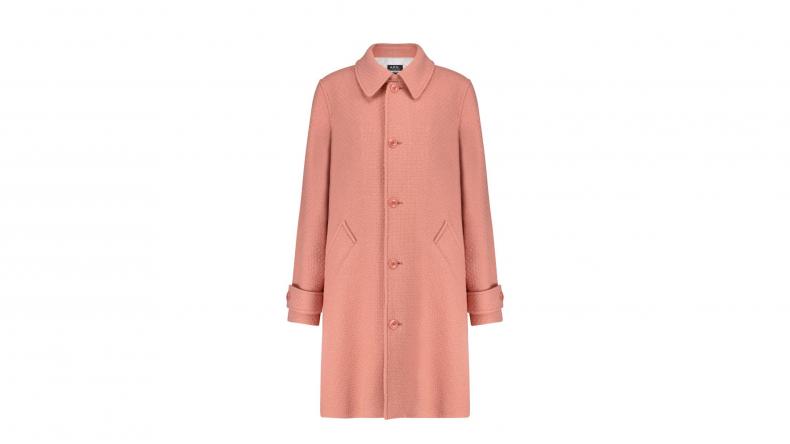 A.P.C. Suzanne wool-blend coat