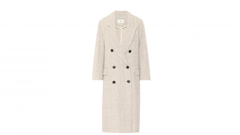 Ojima Wool-Blend Coat