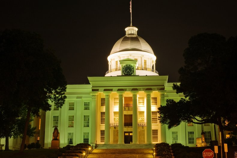 Alabama state capitol building Montgomery