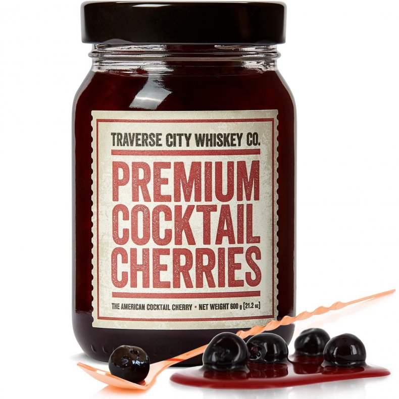 perfect white elephant gift cocktail cherries