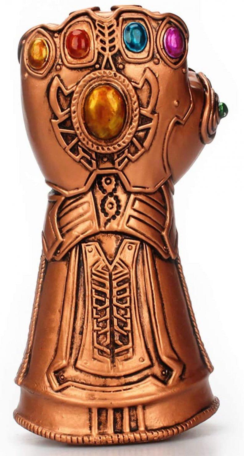 perfect white elephant gift Thanos bottle opener