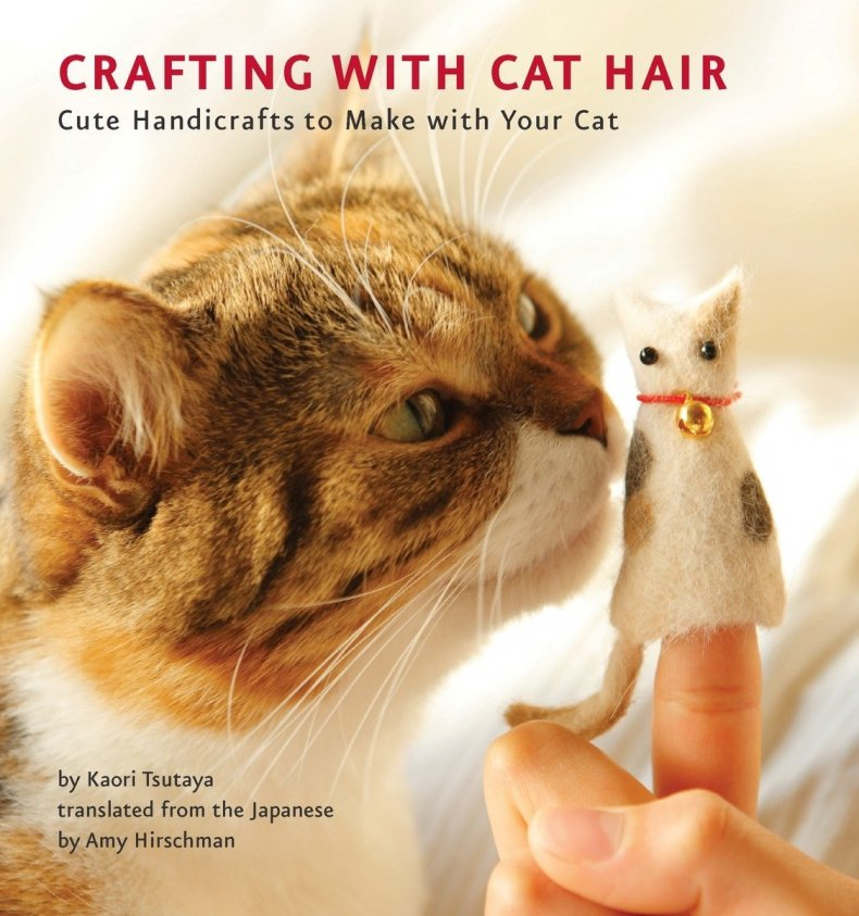 perfect white elephant gift cat hair crafts