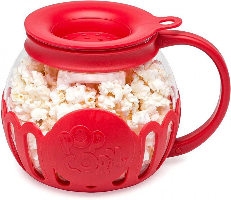 perfect white elephant gift microwave popcorn maker