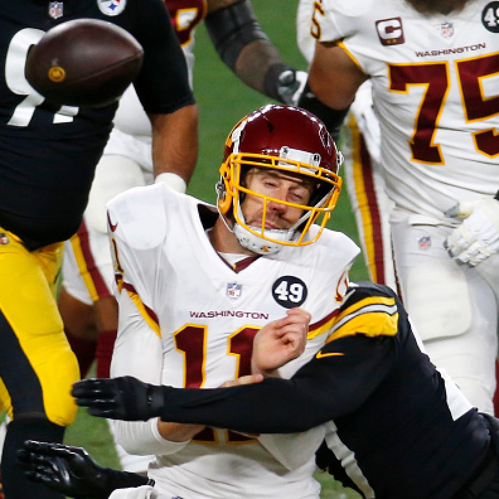 Washington Qb Alex Smith Has Bloody Leg Injury And Returns To Game Social Media Lauds His Toughness