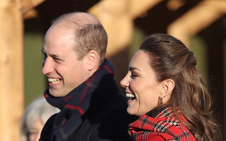 Prince William and Kate Middleton Tour Cardiff