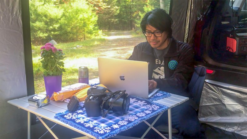 Remote workspace with CARSULE