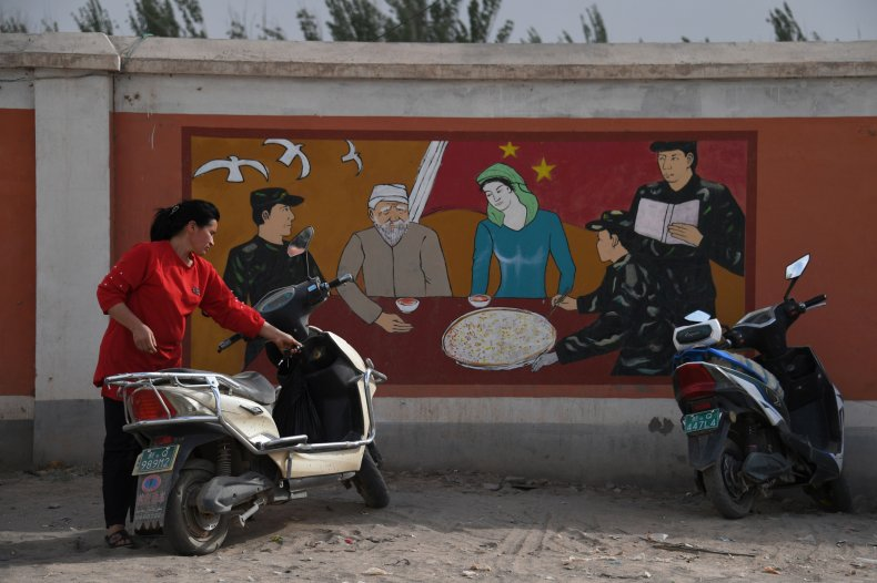 China, uyghur, Xinjiang, muslims, camps, Biden, Xi