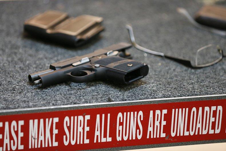 Utah shooting range handgun January 2013