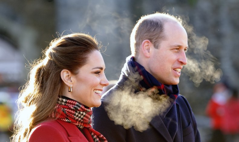 Kate Middleton and Prince William, Cardiff Castle
