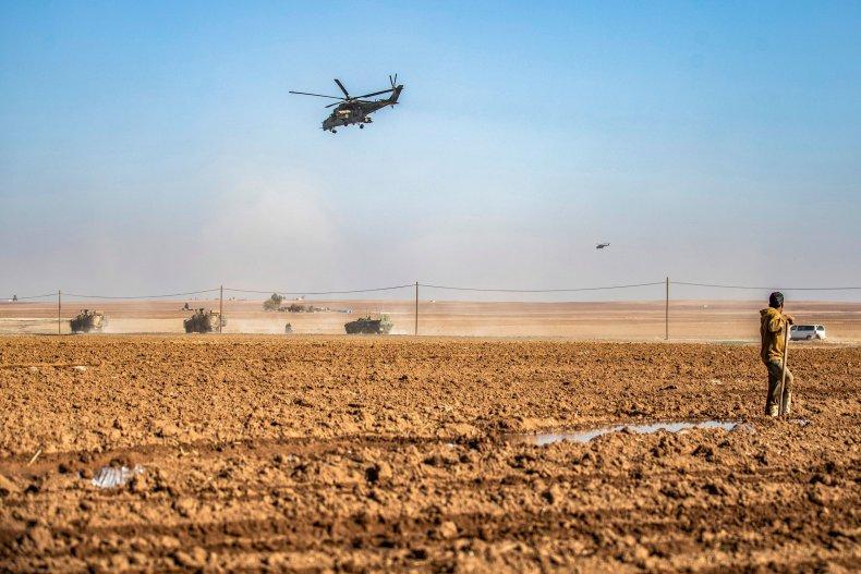 russia, military, turkey, syria, patrol