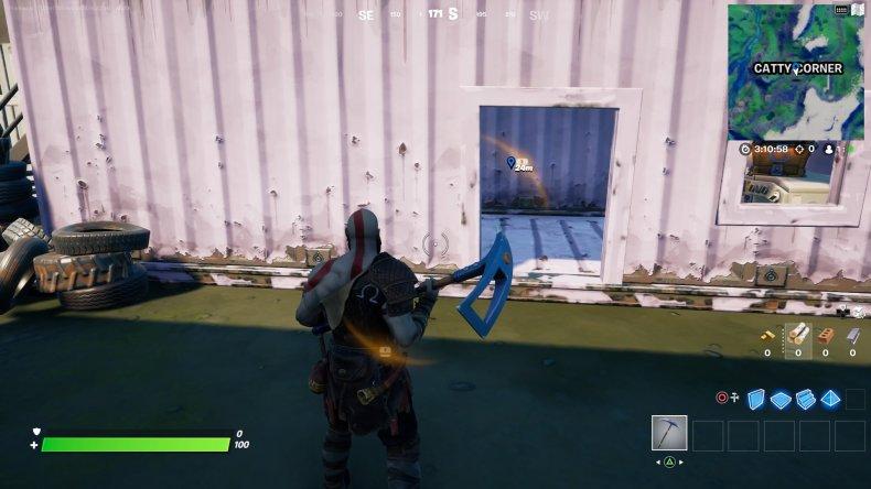 fortnite evidence location 4 gameplay