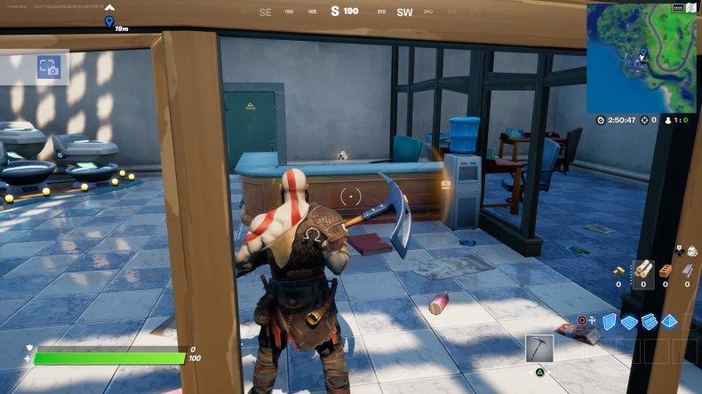 fortnite evidence location 2 gameplay