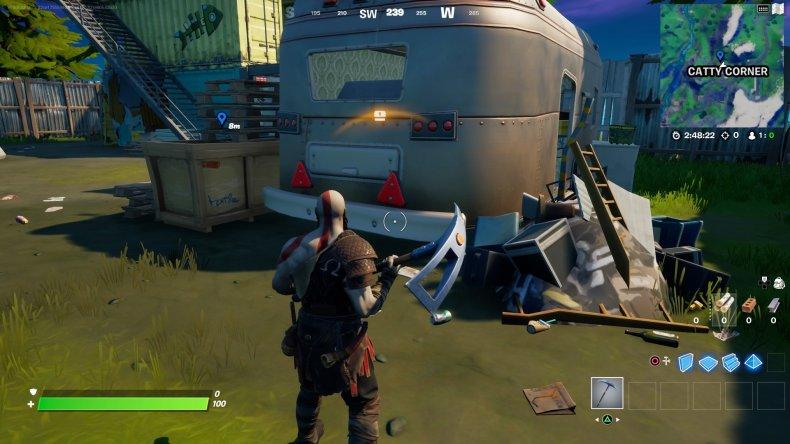 fortnite evidence location 5 gameplay