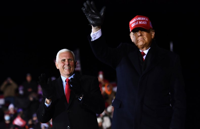 Lincoln Project ad Pence nail coffin Trump