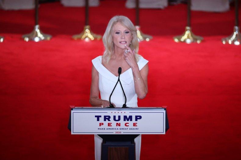 Kellyanne Conway Trump nominees Kennedy Library Puerto