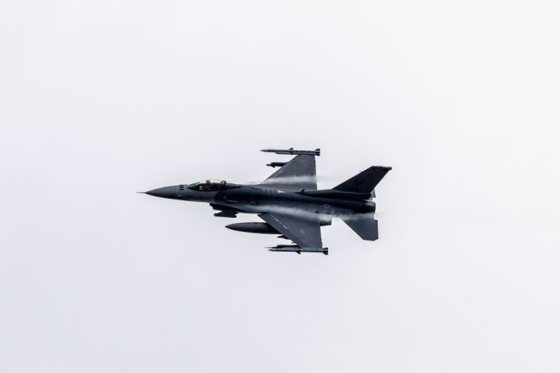 F-16 fighter aircraft