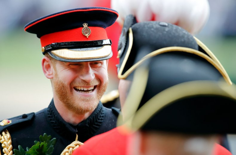 Prince Harry, Founders Day Parade