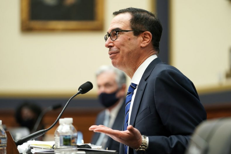 Steven Mnuchin is currently negotiating another bill.