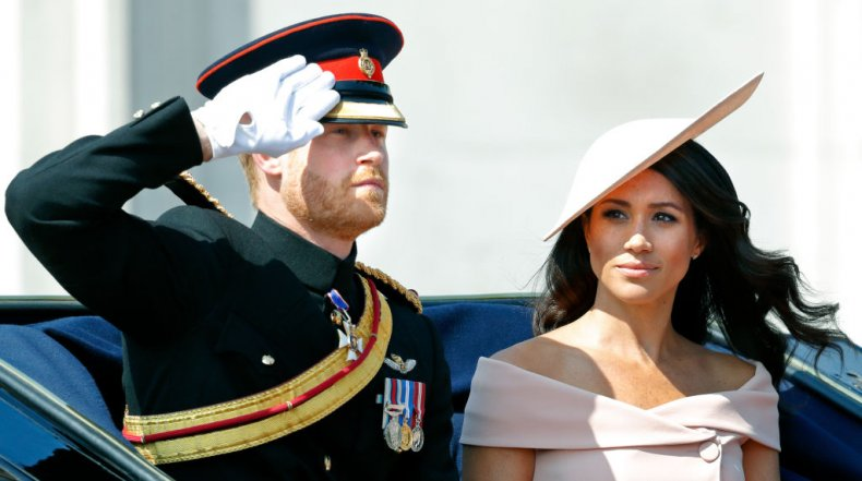 Prince Harry, Meghan Markle, Trooping the Color