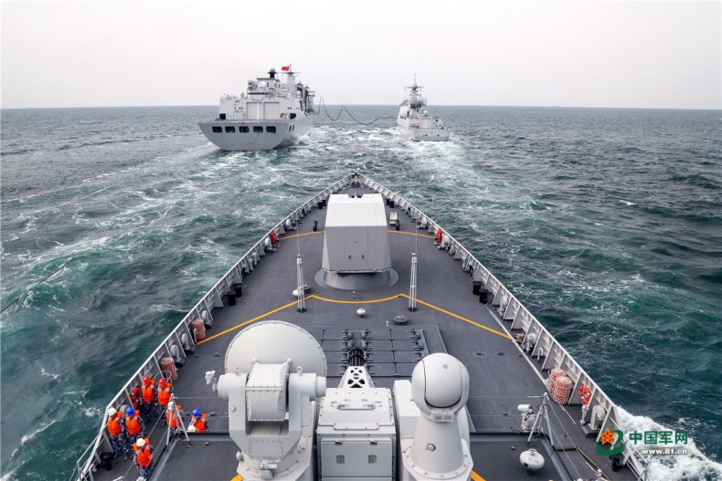PLA Navy Conducts 7-Day Maritime Exercise