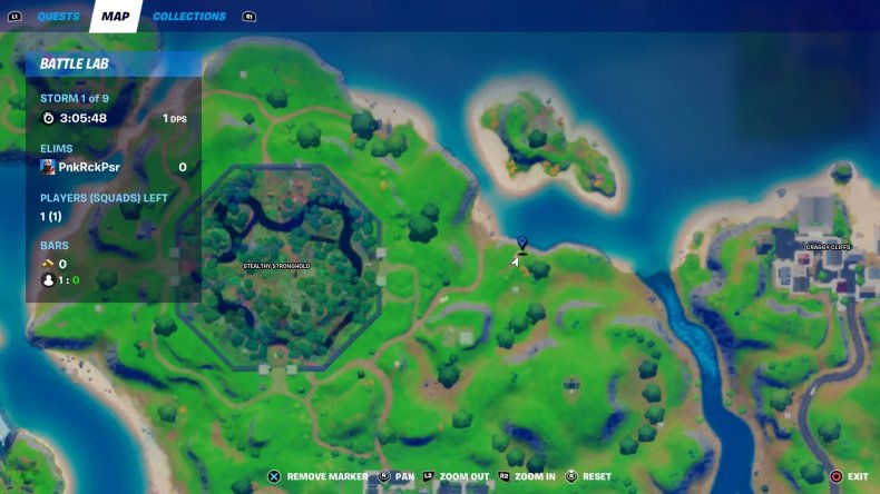 fortnite floating rings location 3