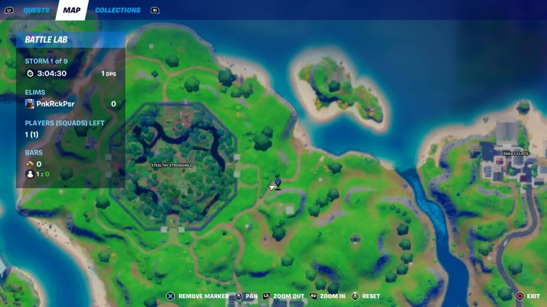 fortnite floating rings location 2