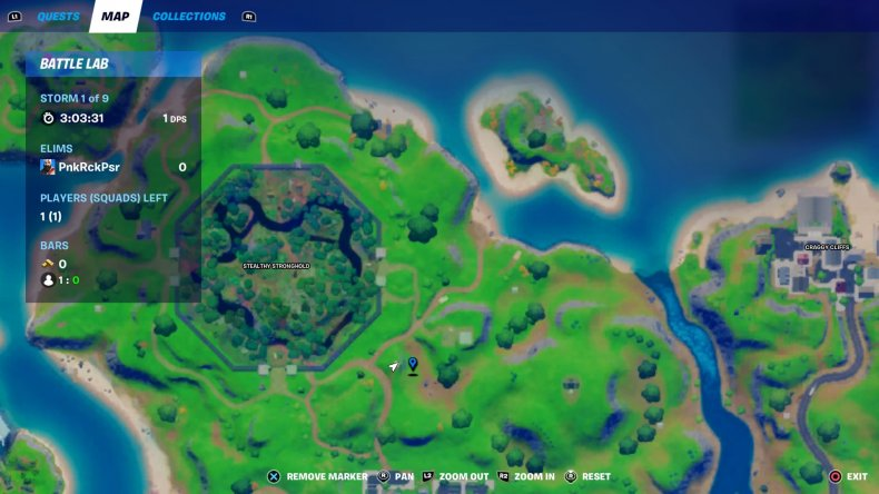 fortnite floating rings location 1