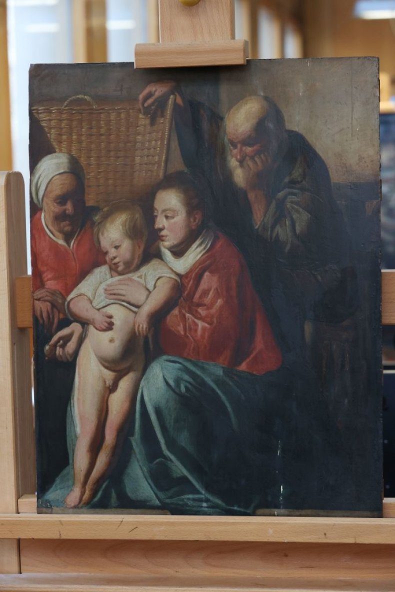Jacques Jordaens' 'Holy Family'