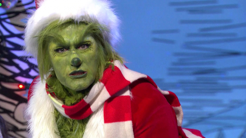 matthew morrison in the grinch live