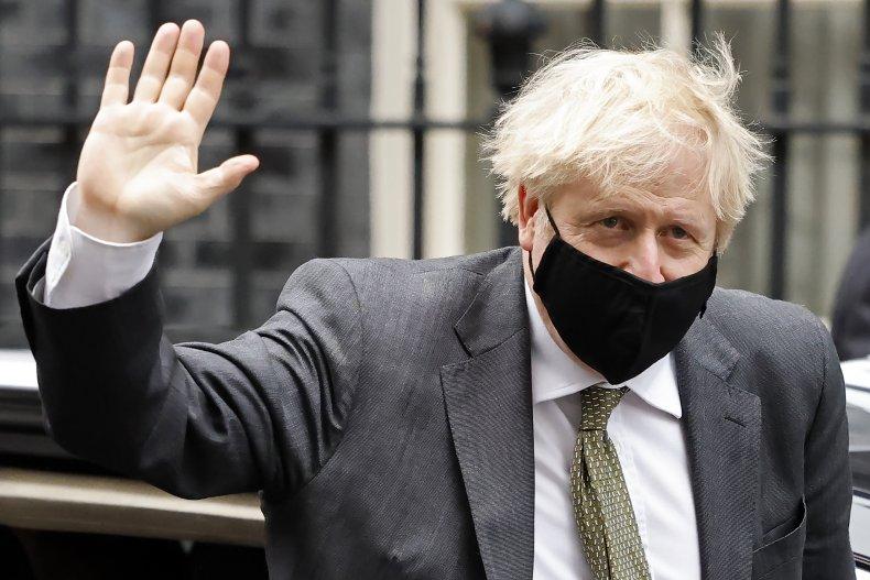 Boris Johnson Returns to Downing Street Post-PMQs