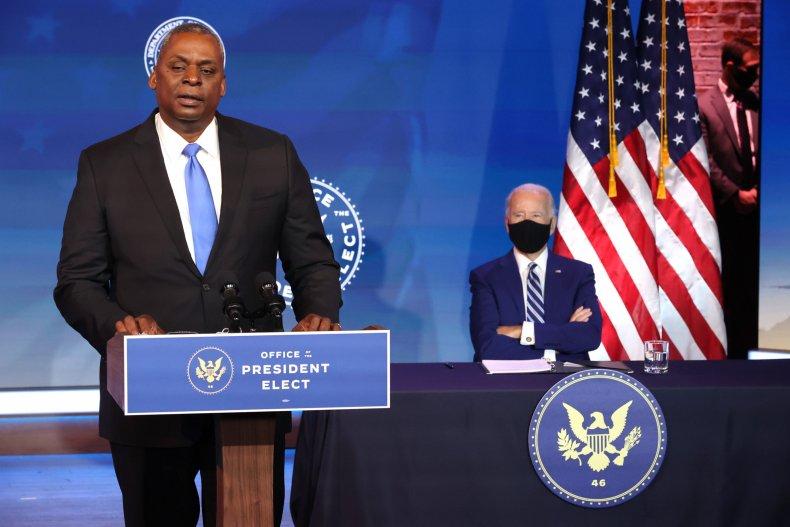 Biden Defense Secretary Nom Lloyd Austin