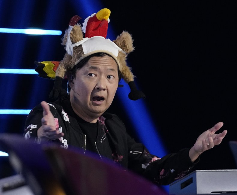 Ken Jeong Performs on 'The Masked Singer'